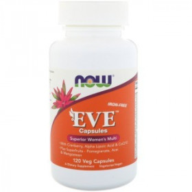 NOW Eve Women's Capsules Iron Free (120 кап)