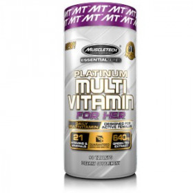 Muscletech Platinum Multi Vitamin for Her (90 таб)