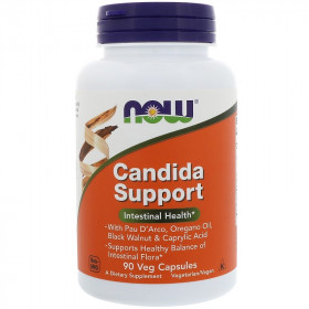 NOW Candida Support (90 капс)