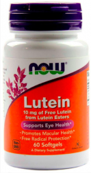 NOW Lutein 10mg (60 кап)