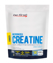 Be First Micronized CREATINE Monohydrate Powder (1000 г)