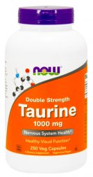 NOW Taurine 1000 mg (250 капс)