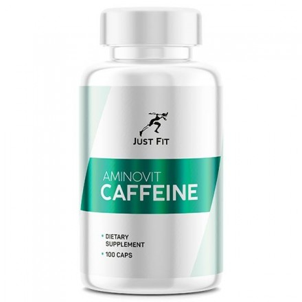 Just Fit Aminovit Caffeine 200 mg (100 капс)