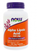 NOW Alpha Lipoic Acid 100 mg (120 капс)