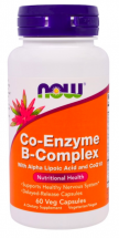 NOW Co-Enzyme B-Complex (60 капс)