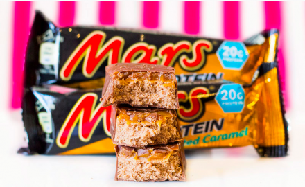 Mars Incorporated Hi-Protein Bar Salted Caramel (59 г)