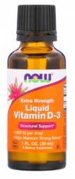 Liquid Vitamin D-3 Extra Strength (30 мл)