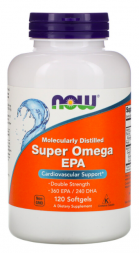 NOW Super Omega EPA 360 / DHA 240 (120 капс)
