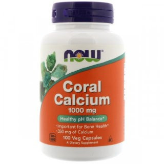 Now Coral Calcium 1000 mg (100 кап)