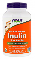 NOW Inulin Pure Powder (227 гр)