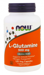 NOW L-Glutamine 500 mg (120 капс)