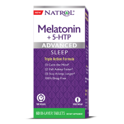 Natrol Advanced Sleep Melatonin + 5-HTP (60 табл)
