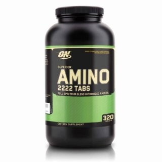 Optimum Nutrition  Amino 2222 (320 табл)