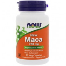 NOW Raw MACA 750 mg (30 кап)