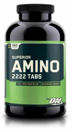 Optimum Nutrition  Amino 2222  (160 табл)