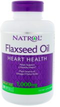 Natrol FlaxSeed Oil 1000 мг (90 капс)