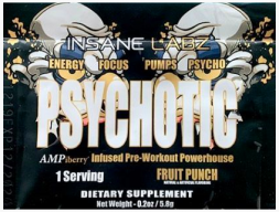 Пробник PSYCHOTIC GOLD Insane Labz (1 порция)