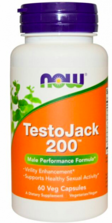 NOW TestoJack 200 (60 капс)