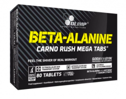 Olimp Beta-Alanine Carno Rush Mega (80 табл)