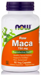 NOW Raw MACA 750 mg (90 кап)