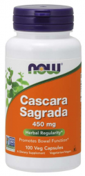 Now Cascara Sagrada 400 мг (100 кап)