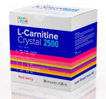 Liquid & Liquid L-Carnitine Crystal 2500 Shots (20 ампул х 25 мл)