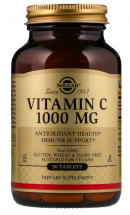 Solgar Vitamin C 1000 mg (90 таб)