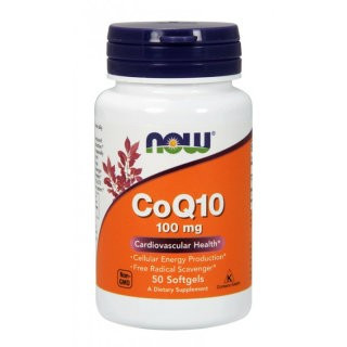 NOW CoQ10 100 mg (50 капс)