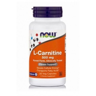 NOW L-Carnitine 500 мг (30 кап)