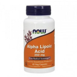 NOW Alpha Lipoic Acid 250 mg (60 капс)