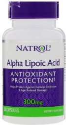 Natrol Alpha Lipoic Acid 300 mg (50 кап)