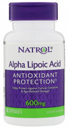 Natrol Alpha Lipoic Acid 600mg (30 кап)