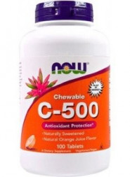 NOW C 500 Chewable (100 табл)