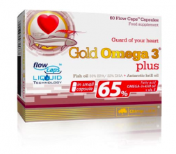 Olimp Gold Omega 3 Plus 65% (60 капс)