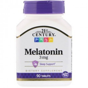 21st Century Melatonin 3mg (90 таб)