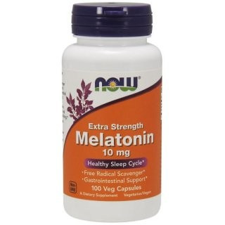 NOW Melatonin 10mg (100 кап)