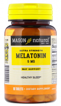 Mason Natural Melatonin 5 mg  (60 табл)