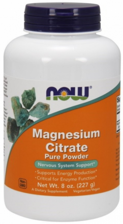 Now Magnesium Citrate Pure (227 г)