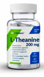 L-Theanine 200 мг Cybermass (60 капс)