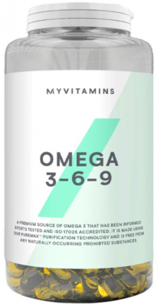 Myprotein Omega 3-6-9 (120 капс)