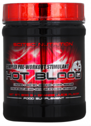 Scitec Nutrition Hot Blood 3.0 (300 гр)