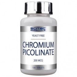 Scitec Essentials Chromium Picolinate (100 таб)