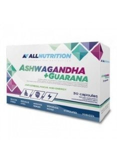 All Nutrition Ashwaganda + Guarana (30 капс)