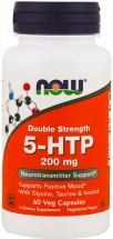 NOW Double Strenght 5-HTP 200 mg (60 капс)