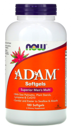 NOW ADAM Superior Men's Multi (180 капс)