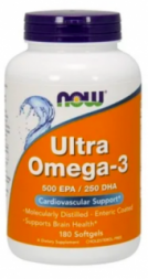Now Ultra Omega-3 500 ЭПК/250 ДГК (180 капc)