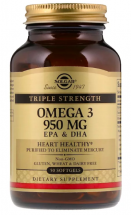 Solgar Omega-3 950 мг EPA & DHA Triple Strength (50 кап)