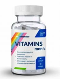 VITAMINS MEN'S Cybermass (90 капс)