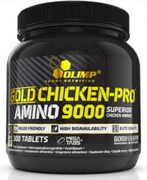 Olimp Gold Chicken Pro Amino 9000 Mega Tabs (300 табл)