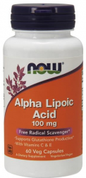 NOW Alpha Lipoic Acid 100 mg (60 капс)
